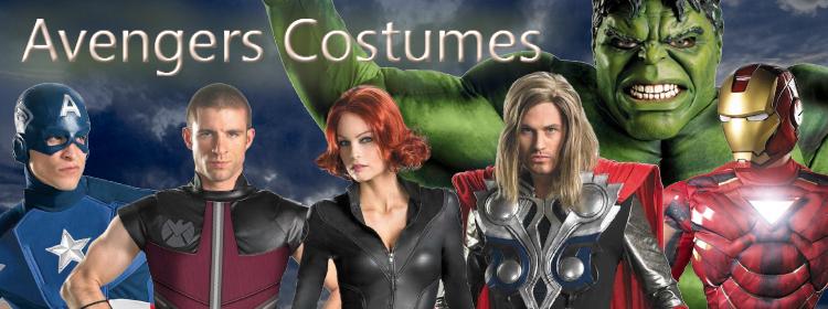 2012 Avengers Costumes