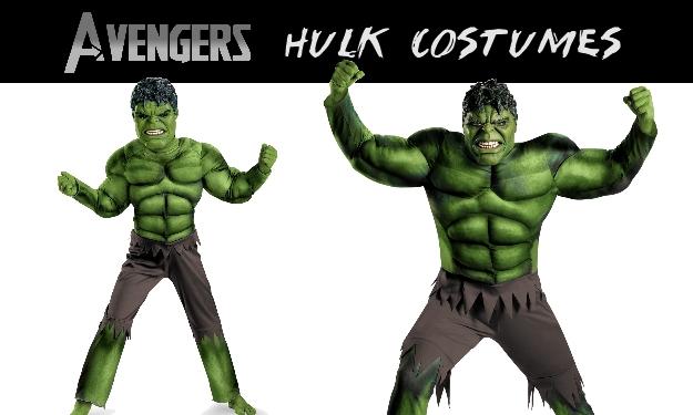 Hulk Costumes From Avengers Movie
