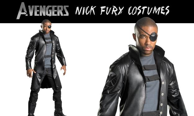 New Nick Fury Costume